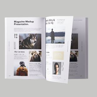 A4 Magazine Booklets